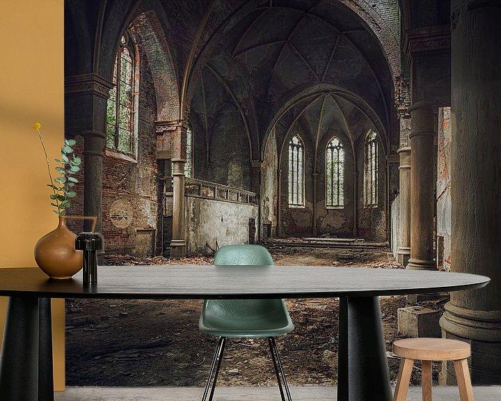 Beispiel fototapete: Verlassen und baufällig von Frans Nijland