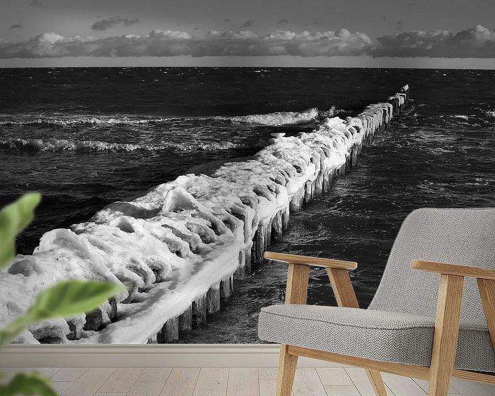 Beispiel fototapete: Ostsee Winterabend von Thomas Jäger