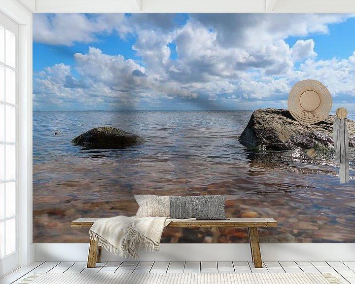 Sfeerimpressie behang: Lakeshore van BVpix