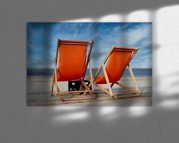Relax am Strand von HGU Foto