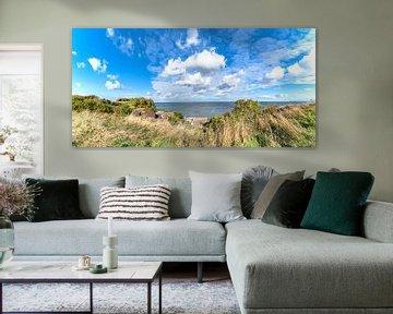 Panorama du village de pêcheurs de Vitt sur GH Foto & Artdesign