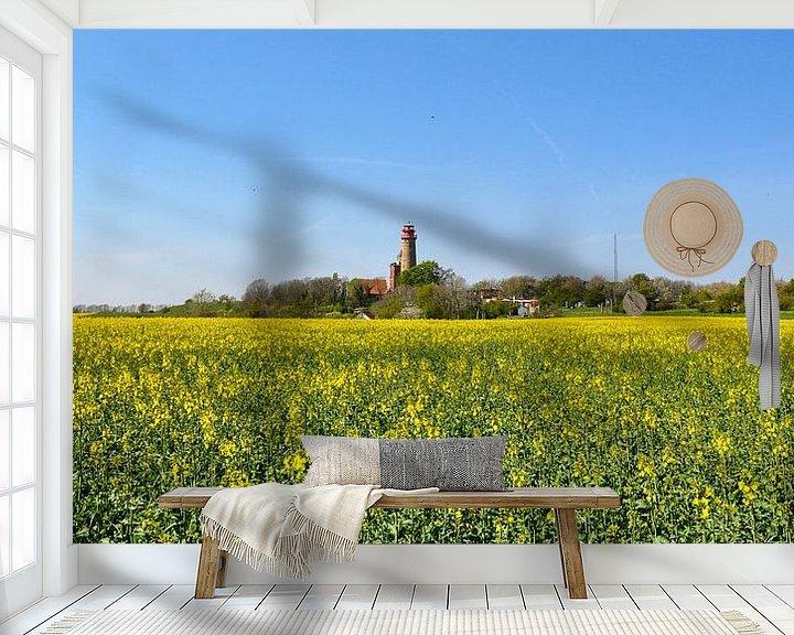 Impression: Tour Schinkel et nouveau phare Cap Arkona, champ de colza sur GH Foto & Artdesign
