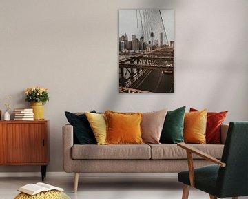 Brooklyn Bridge New York van Amber den Oudsten