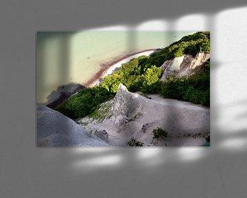 """Caspar David Friedrich's """" Krijtrotsen op Rügen"""" of wat er nog over is van GH Foto & Artdesign"""