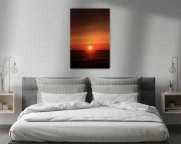 Ostsee Sonnenuntergang von Thomas Jäger