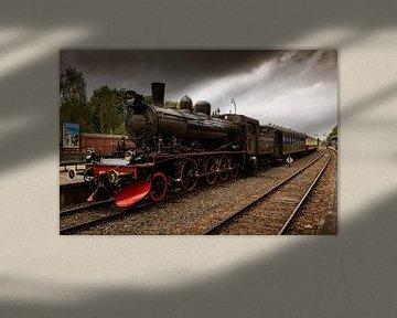 E2 1040 Steam Locomotive (2018) van Ronald Smeets Photography