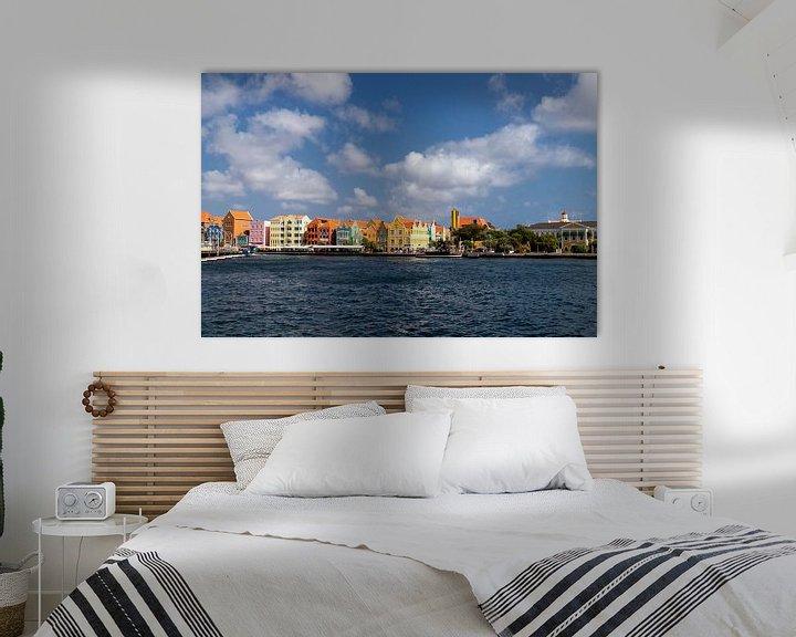Sfeerimpressie: Punda Willemstad Curacao van Marly De Kok