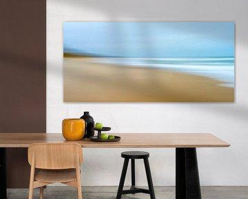 Strand Idyll II van Kirsten Warner