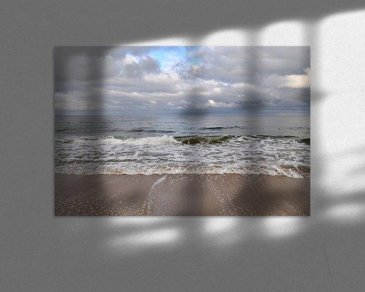 Beispiel: Stürmische Ostsee, Nordstrand Göhren von GH Foto & Artdesign