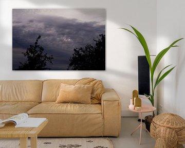 Donkere wolken sur Laurens Rijswijk