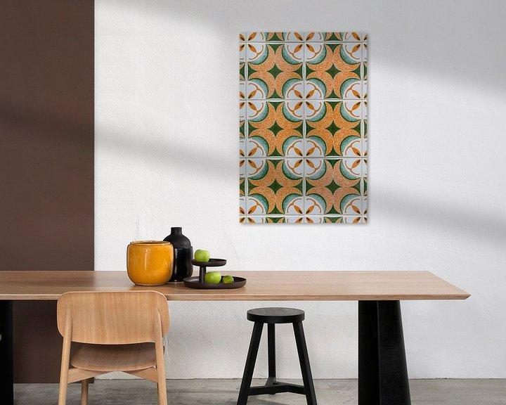Sfeerimpressie: Azulejos in Olhao van Dirk Rüter