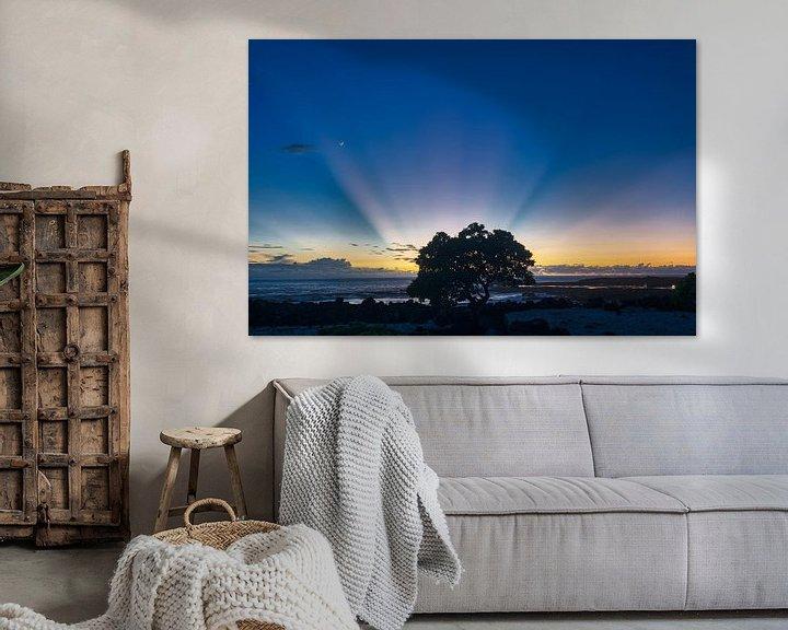 Sfeerimpressie: rays of light van Jim De Sitter