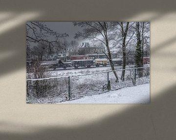 Profiter de la première neige dans le sud du Limbourg