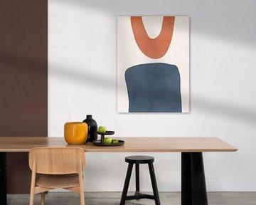 Shapes - Abstracte Print van MDRN HOME