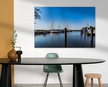 Zeilvakantie - Puddemin haven op het eiland Rügen van GH Foto & Artdesign