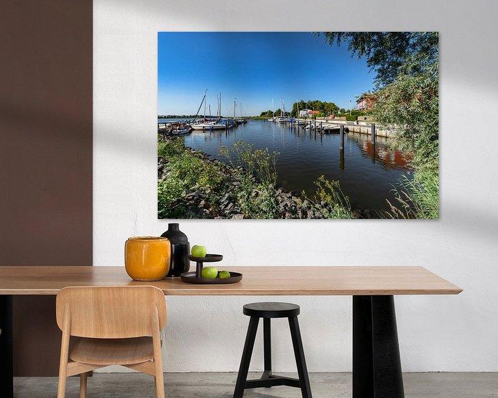 Beispiel: Segelurlaub - Hafen Puddemin auf Rügen von GH Foto & Artdesign