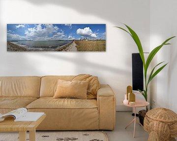 Panorama Naturstrand in Alt Reedevitz, Halbinsel Mönchgut von GH Foto & Artdesign
