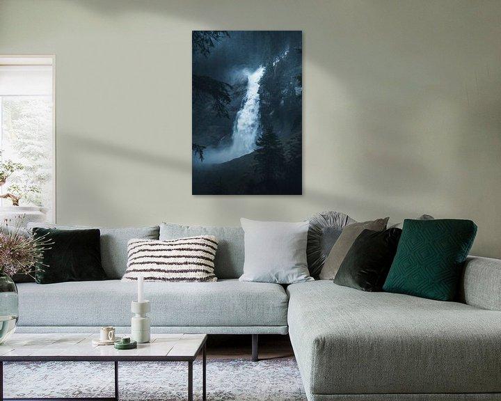 Sfeerimpressie: Krimmler waterval van Dylan Shu