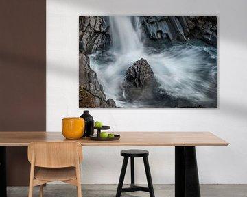 De Klukkufoss, klokwaterval, een prachtig stukje natuur