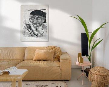Max Beckmann - Selbstporträt