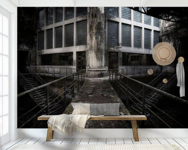 Beispiel fototapete: Fabrik Triebwerk 4b von Kirsten Scholten