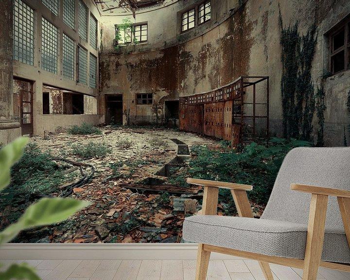 Beispiel fototapete: Fabrik Triebwerk 2a von Kirsten Scholten
