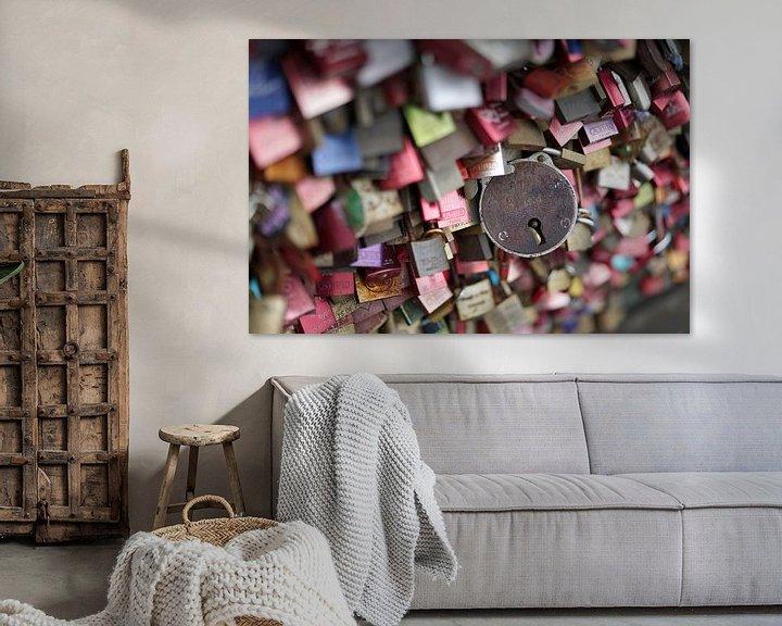 Sfeerimpressie: Liefdessloten van Heiko Kueverling