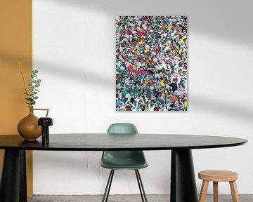 Abstrakt in Multicolour von Maurice Dawson
