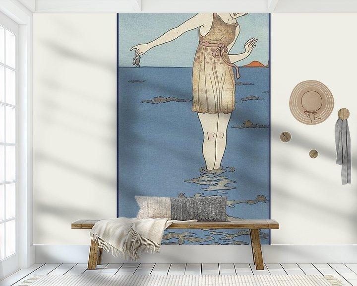 Beispiel fototapete: Costume de bain von NOONY