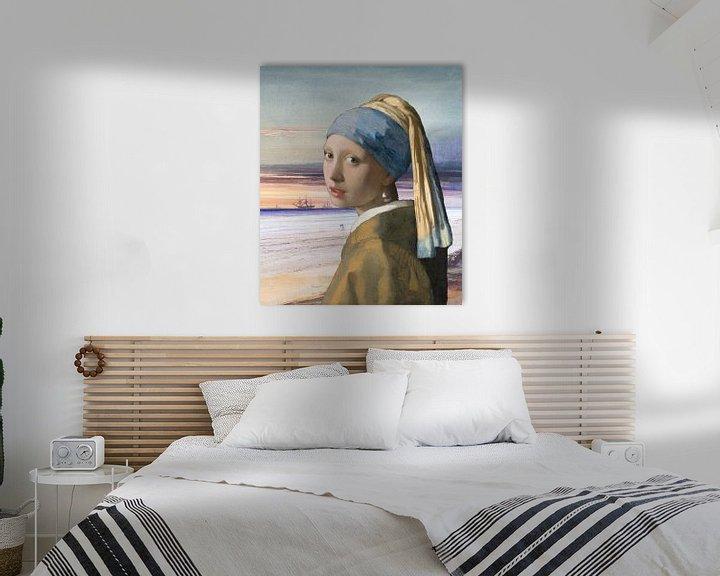 Impression: La fille à la perle au bord de la mer sur Eigenwijze Fotografie