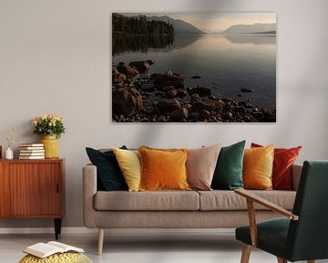 Zonsondergang Lake McDonald van Stefan Verheij