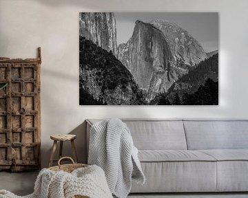 Yosemite Berge von Stefan Verheij