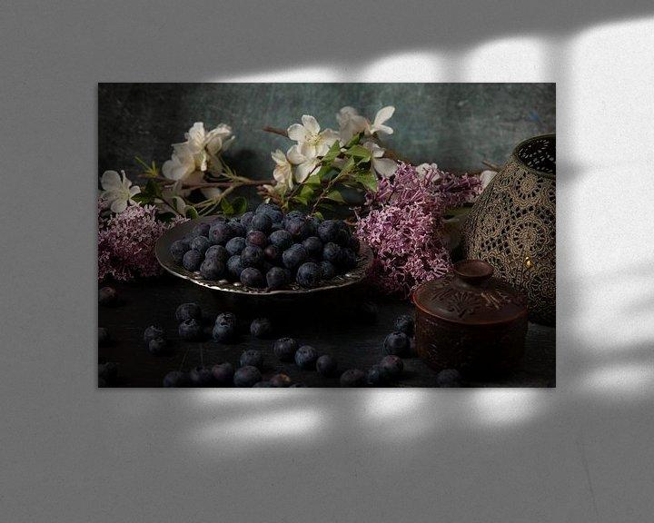 Beispiel: Heidelbeeren von Franz Nagler