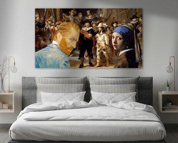 Perle und Vincent für die Nachtwache von ! Grobie