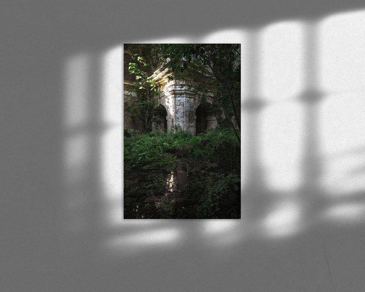 Beispiel: Kirche Die Natur übernimmt 3 von Kirsten Scholten