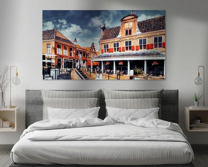 Beispiel: Zentrum Monnickendam von Digital Art Nederland
