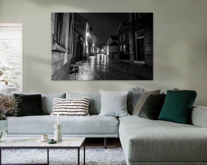 Sfeerimpressie: Avond in het Limburgse Valkenburg van Richard Driessen