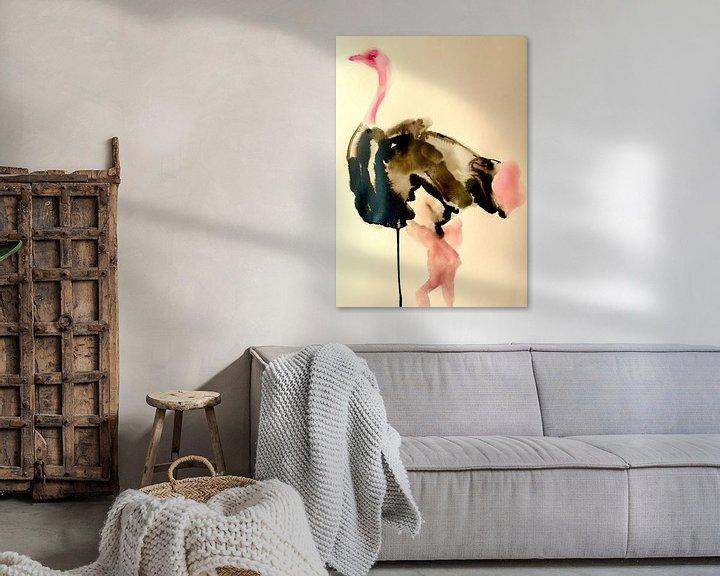 Beispiel: Federn mit Schwung von Helia Tayebi Art