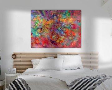 kleurrijke diversiteit van Claudia Gründler