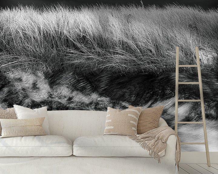 Sfeerimpressie behang: Woest water van Marijke de Leeuw - Gabriëlse