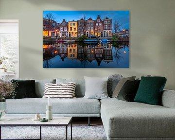 Leiden in Lockdown: Utrechtse Veer von Carla Matthee