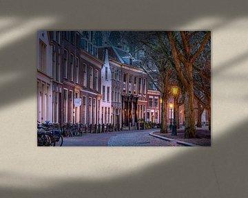 Leiden in Lockdown: Hooglandse Kerkgracht von Carla Matthee