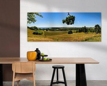 Panorama Göhren mit Blick zu den Zicker Bergen von GH Foto & Artdesign