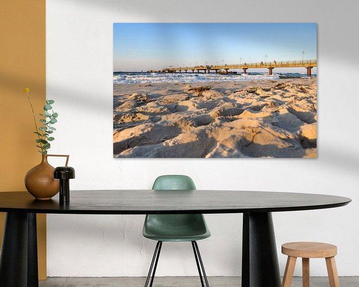 Beispiel: Sonnenuntergang am Nordstrand in Göhren auf Rügen von GH Foto & Artdesign