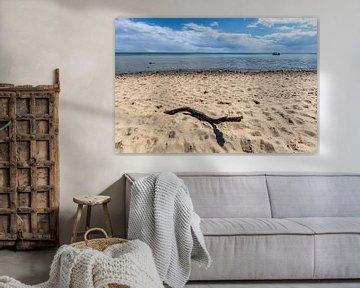 Strandgut - Zuidelijk strand in Göhren op het eiland Rügen van GH Foto & Artdesign