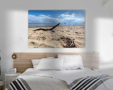 Boot am Südstrand in Göhren auf Rügen von GH Foto & Artdesign