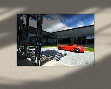 Mercedes-Benz SLS AMG von Jesper van der Noord