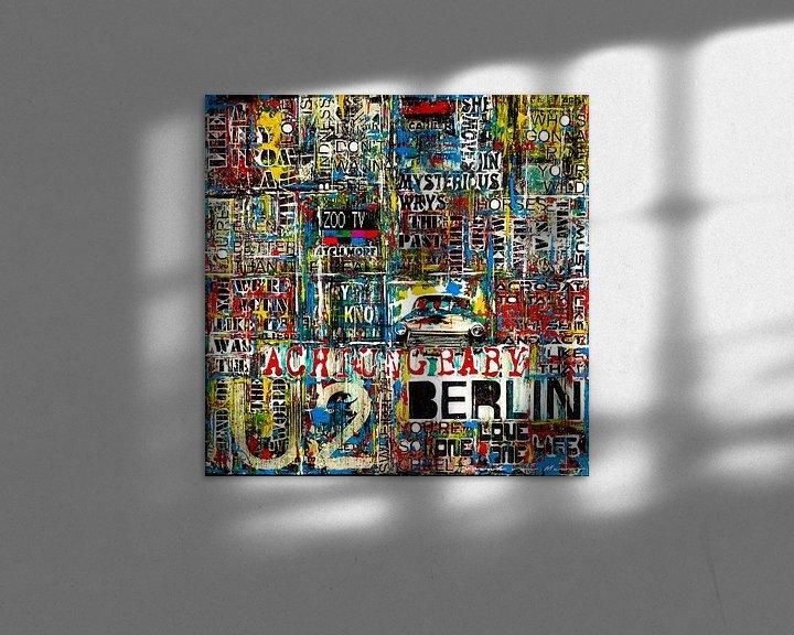 Sfeerimpressie: Achtung Baby Berlin van Frank van Meurs