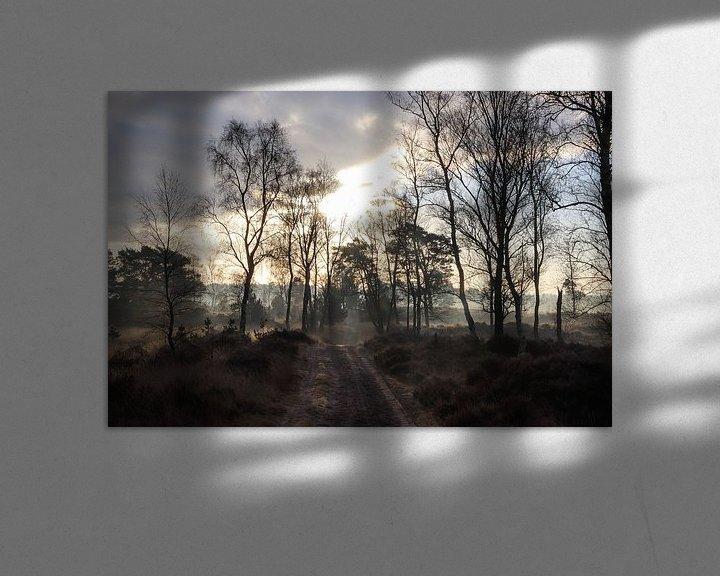 Beispiel: Nebliger Morgen von Anya Lobers