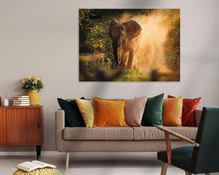 Sfeerimpressie: Olifant van Nicole Jagerman